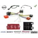 COMMANDE VOLANT Nissan Primastar 2008-2010 - Pour Pioneer complet avec interface specifique