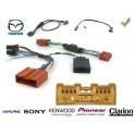 COMMANDE VOLANT Mazda 3 2004-2008 SANS AMPLI - Pour SONY complet avec interface specifique