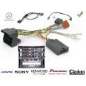 COMMANDE VOLANT Mercedes CLASSE B 2005-2011 W246 - Pour SONY complet avec interface specifique