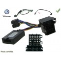 CDE AU VOLANT KENWOOD POUR VOLKSWAGEN CROSS FOX 2005- ISO MINI-ISO