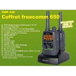 double écouteur – référence ACMS207 pour CB PRESIDENT Freecomm 650