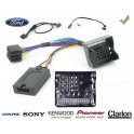 COMMANDE VOLANT Ford Mustang 2005-2014  - Pour SONY complet avec interface specifique