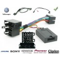 CDE AU VOLANT SONY POUR Volkswagen Sharan 2000-2005 ISO