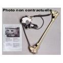 MECANISME VOLKSWAGEN GOLF3 09/1991- ARRIERE DROIT AVEC MOTEUR CONFORT