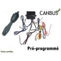 PACK REGULATEUR LIMITEUR DE VITESSE CANBUS PRE-PROGRAMME CENTRALE + COMODO