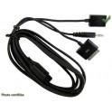 CABLE ACCESSOIRE MUSIQUE PARROT SERIE MKI -v2.99 PRISES IPOD/IPHONE USB JACK 3.5