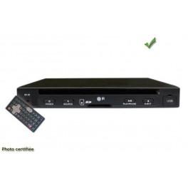 lecteur dvd divx port usb et sd av2704 12v mobile format demi din silim. Black Bedroom Furniture Sets. Home Design Ideas