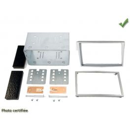 Kit 2 DIN OPEL ASTRA H 2004-2009 ARGENT