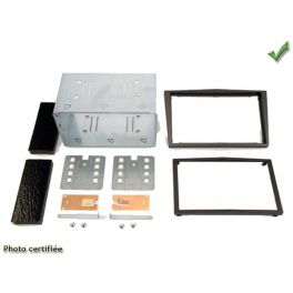 Kit 2 DIN OPEL ASTRA H 2004- ANTHRACITE