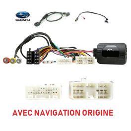 CDE AU VOLANT POUR Subaru Forester 2009-2009 AVEC NAVIGATION ORIGINE