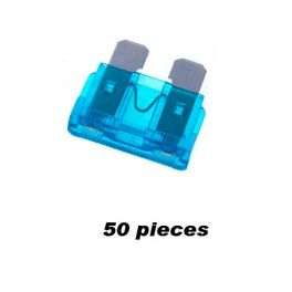 FUSIBLE A BROCHES 15 A BLEU 50 Pieces