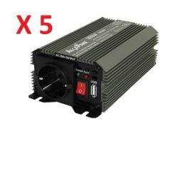 SURVOLTEUR 12V /220V 50 Hz 300 W (PAR 5 PIECES)