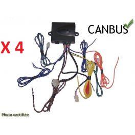 REGULATEUR LIMITEUR DE VITESSE ELECTRONIQUE CAN BUS (A CDE EN+ CABLE+ LEVIER)...(4 PIECES)