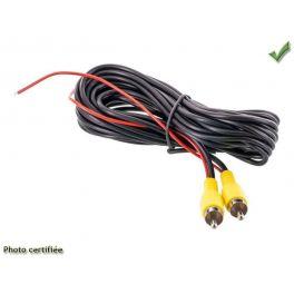 CORDON RCA VIDEO M/M 5M avec fil marche arriere POUR CM004
