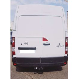 ATTELAGE OPEL MOVANO 04/2010- FOURGON PROPULSION ROUES SIMPLE - ROTULE EQUERRE