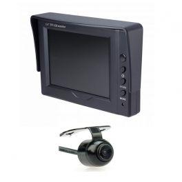 KIT CAMERA DE RECUL AVEC ECRAN  3.5 TFT LCD ET CAMERA FIXE