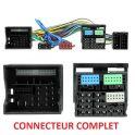 FAISCEAU KIT MAIN LIBRE AUDI A3 09/2012- CONNECTEUR COMPLET