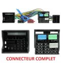 FAISCEAU KIT MAIN LIBRE AUDI A1 2010- A1 Q5 A4 A5 AVEC MMI 8HP NEW CONNECTEUR COMPLET