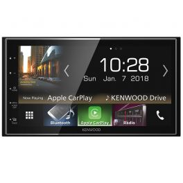 AUTORADIO MUTIMEDIA KENWOOD Apple CarPlay et Android Auto 4 X 50W