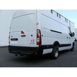 ATTELAGE RENAULT MASTER IV 2020- FOURGON PROPULSION ROUES JUMELEES - ROTULE EQUERRE